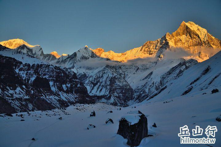 日落魚尾峰 - 世界級的美景