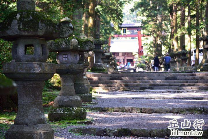 從前富士講員是從吉田的淺間神社一合目開始爬的