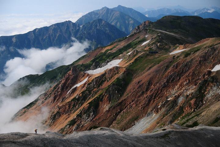 連峰 立山