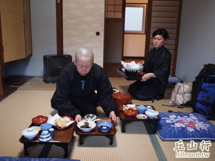 高野山宿坊體驗,享用精進料理